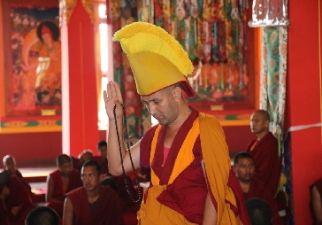 Obtaining Geshe degree